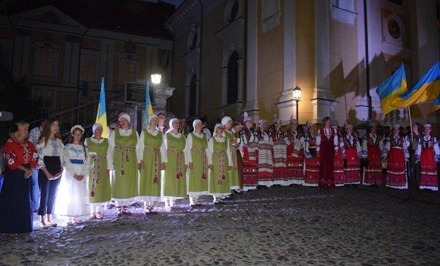 В Ужгороде молились за Украину