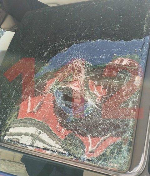 На параде в Москве российский военный напал с оружием на машину ФСБ