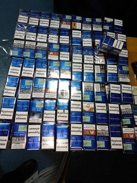 Из-за контрабанды сигарет 23-летний венгр потерял 90 тыс. гривен