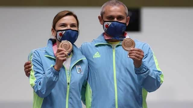 В копилке Украины уже 3 бронзовые медали - Елена Костевич и Олег Омельчук