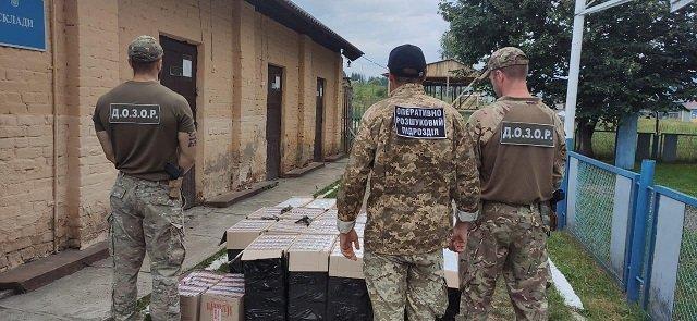 На украинско-румынской границе взяли более 20 000 пачек сигарет - звучали выстрелы