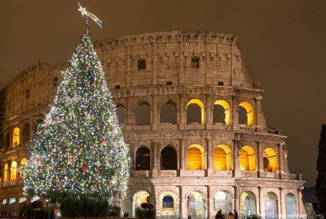 Рейтинг новогодних елок в главных европейских городах: 6. Рим-Италия