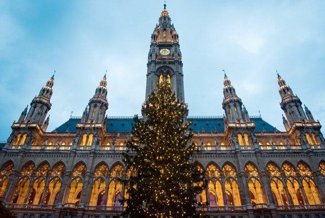 Рейтинг новогодних елок в главных европейских городах: 7. Вена-Австрия