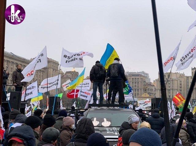 Налоговый майдан в Киеве: Бои между протестующими предпринимателями и силовиками