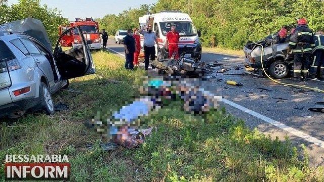 Смертельное ДТП в Одесской области: 6 человек погибло, 3 госпитализированы