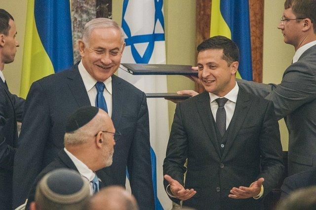 Первый за последние 20 лет визит премьер-министра Израиля Биньямина Нетаньяху в Украину
