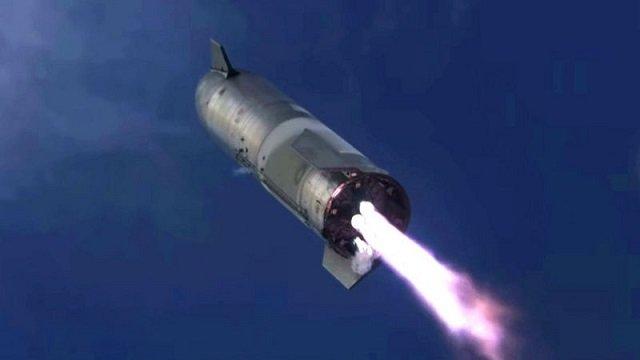 Ракета Starship Илона Маска впервые удачно приземлилась... а потом взорвалась