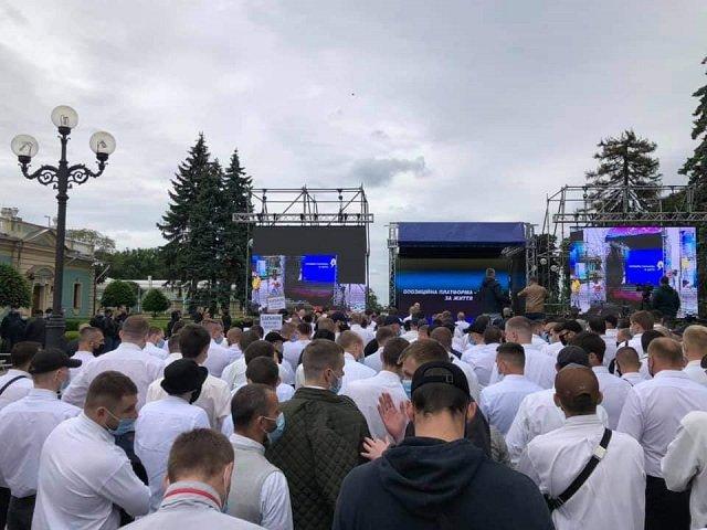 """В Киеве """"За життя"""" провело массовый митинг против приватизации Украины"""