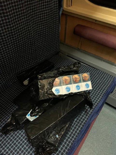 Из-за найденной в Закарпатье на границе контрабанды, уволили начальника поезда Киев - Вена