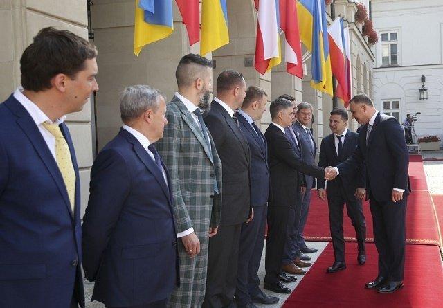В Варшаве началась встреча президентов Украины и Польши
