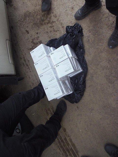 Через кордон у Закарпатті намагалися провезти ліків на 160 тисяч гривень