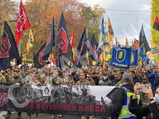 В Киеве в честь Дня защитника Украины промаршируют националисты