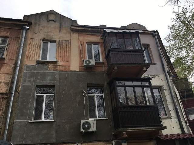 Квартира, которую Джеймс купил в Одессе