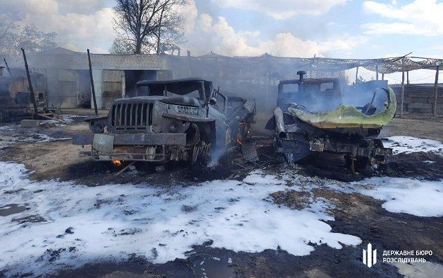 В воинской части в Луганской области сгорели четыре бензовоза, расследование ведет ГБР