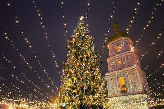 Рейтинг новогодних елок в главных европейских городах: 5. Киев-Украина