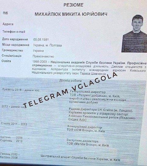 Никита Юрьевич Михайлюк - кандидат на должность главы Закарпатской ОГА