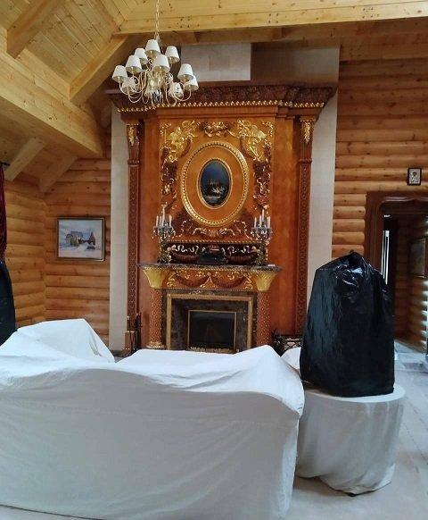 Оприлюднено фото з масштабних обшуків дачі Медведчука в Закарпатті