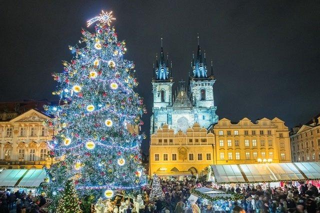 Рейтинг новогодних елок в главных европейских городах: 2. Прага-Чехия