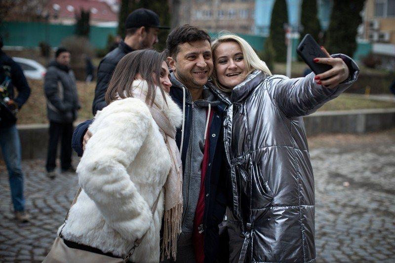 Зеленський з «Кварталом 95» приїхав в Ужгород