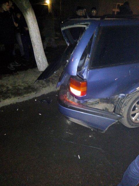 На Закарпатье произошло тройное ДТП, виновник сбежал
