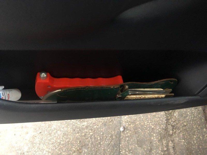 В Закарпатье поймали иностранца с охотничьим ножом