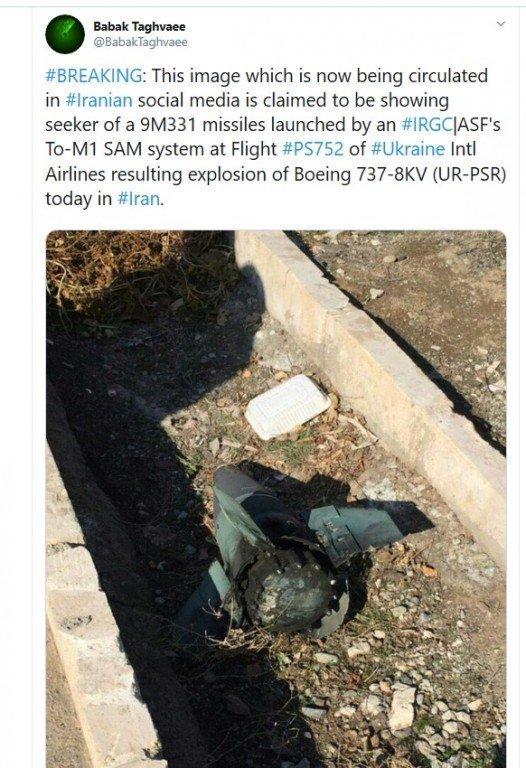 Последние слова бортпроводницы услышала мама: Украинский Boeing 737 могла сбить самонаводящаяся ракета Ирана