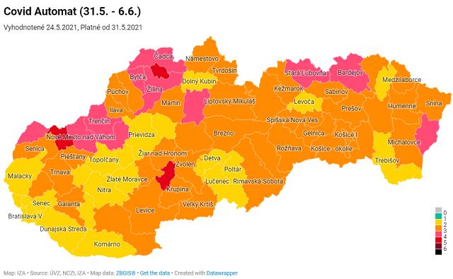 Що і як на кордонах Словаччини: Нові ковід-правила для в'їзду в країну