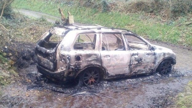 В сети показали жуткие фотографии с места убийства бойца АТО в Европе