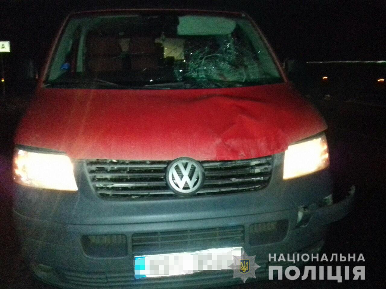 Кровавый след на лобовом: В Закарпатье случилось ДТП с летальным исходом
