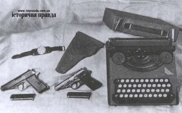 Из одного из них застрелился командир УПА Шухевич