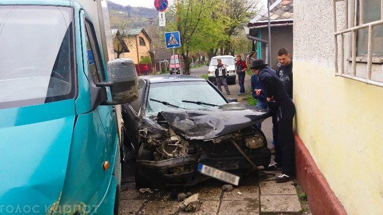 Дорожно-транспортное происшествие произошло в городе Рахов