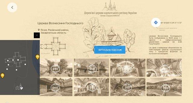 Церковь Вознесения Господнего в пгт.Ясиня, Аутентичная Украина