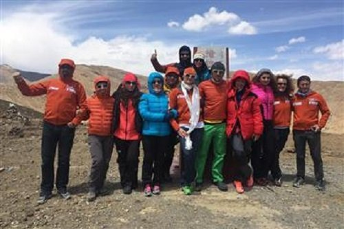 К Третьему полюсу украинские альпинистки пойдут в составе различных экспедиций.