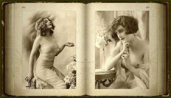 Ці еротичні листівки були зроблені у Франції в кінці XIX століття