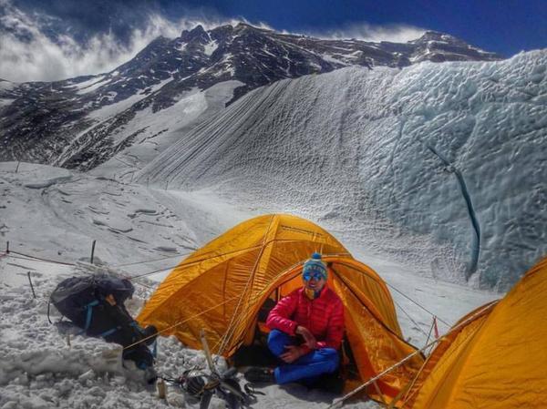 Закарпатка Ирина Галай стала первой украинской, которая преодолела Эверест