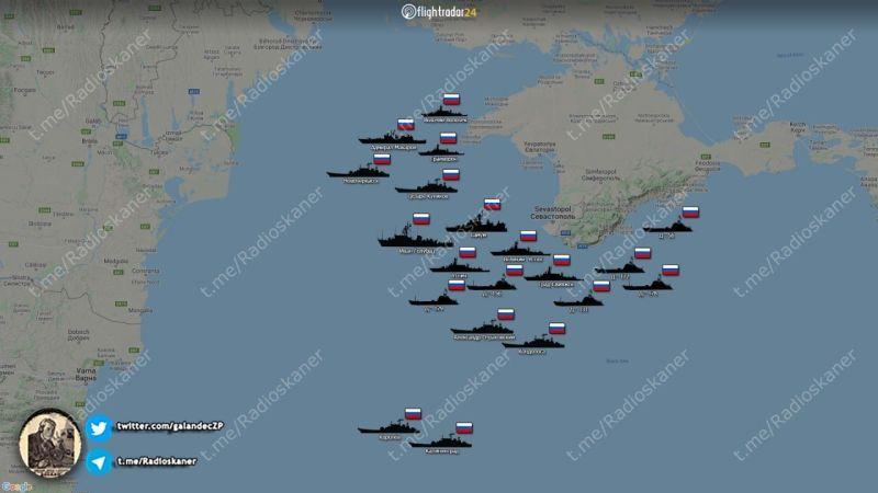В Черном море демонстрация силы или подготовка к вторжению?