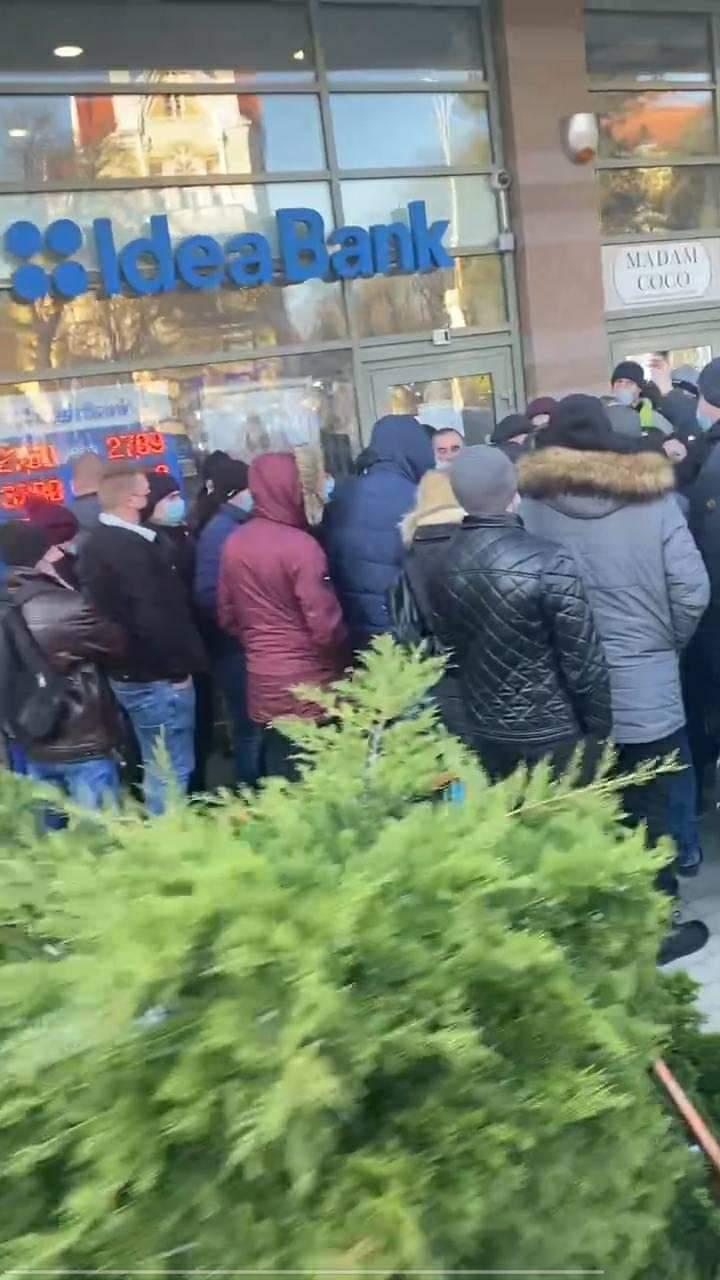 В центре Ужгорода происходит просто коронавирусная жесть