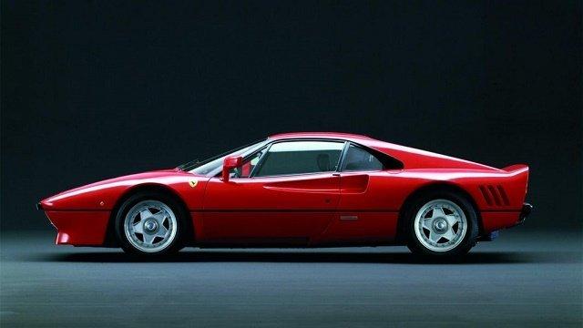 Ferrari 288 GTO - Рейтинг суперкаров всех времен и народов по версии Top Gear