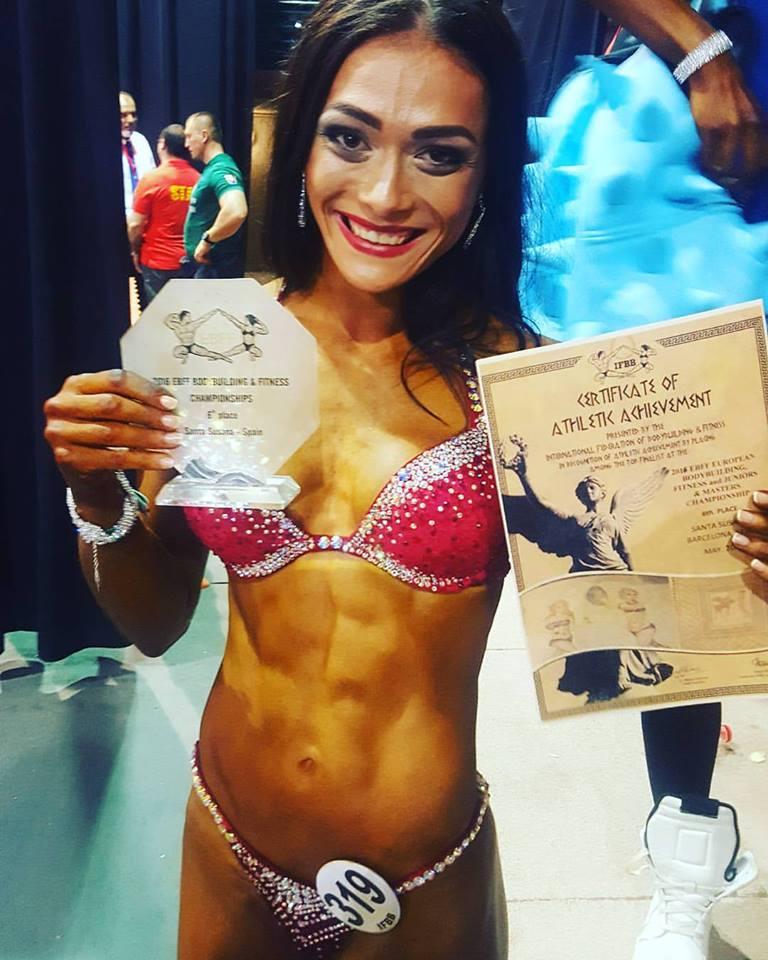 В курортном городке Санта Сусанна проходит Чемпионат Европы по бодибилдингу