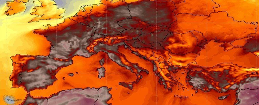 До конца июня в Европу может прийти аномальная жара