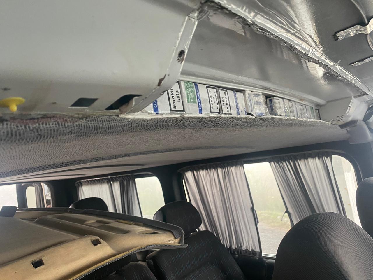 В Закарпатье осмотр с виду непримечательного микроавтобуса дал свои плоды