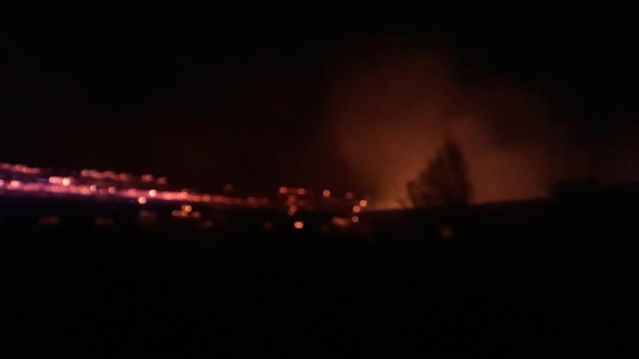 В Закарпатье спасатели раскрыли все детали пожара, который они тушили от ночи и до самого утра