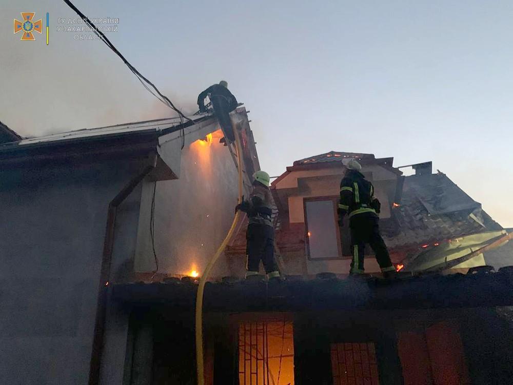 В Закарпатье солнечные батареи на крыше привели к трагедии