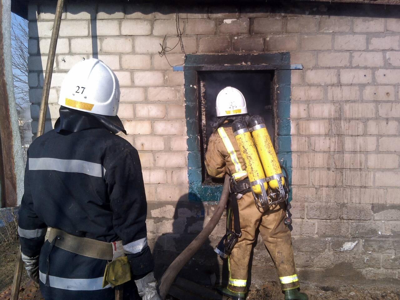 В Кировоградской области в доме сгорело трое детей
