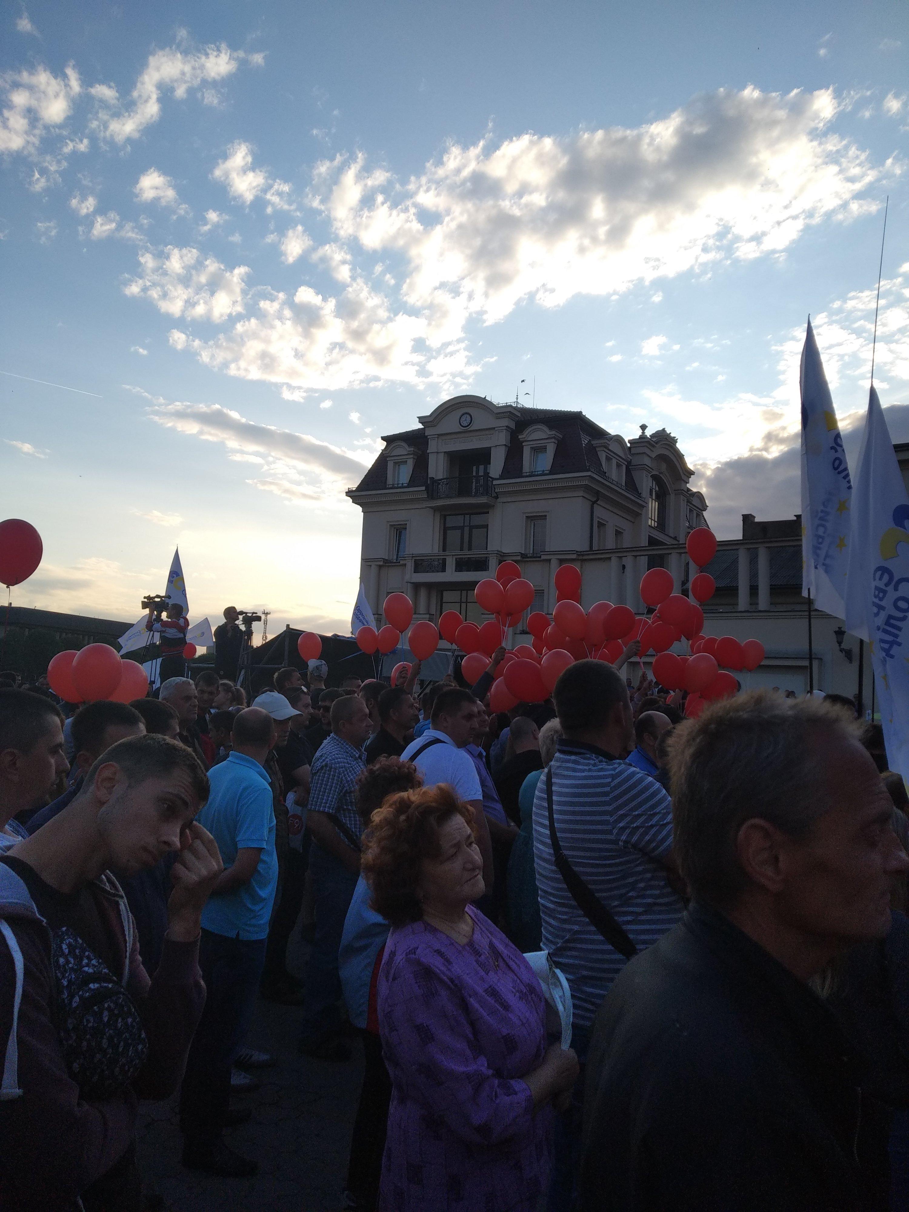 Петра Порошенко с позором освистали в Ужгороде