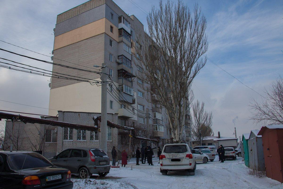 В Днепре соседи стали свидетелями страшной двойной трагедии