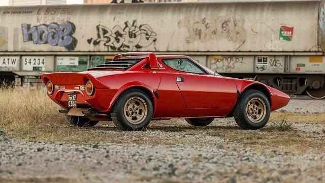 Lancia Stratos - Рейтинг суперкаров всех времен и народов по версии Top Gear