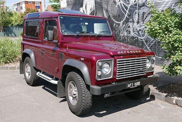Land Rover Defender - Рейтинг суперкаров всех времен и народов по версии Top Gear