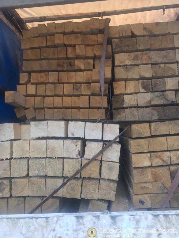 В Закарпатье разоблачили незаконную схему транспортировки древесины за границу