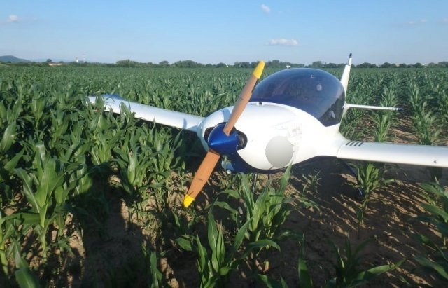 Недалеко от Закарпатья разбился самолёт